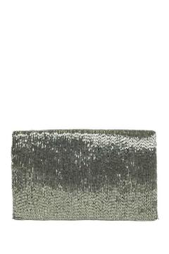 Shoptiques Product: Silver Beaded Clutch