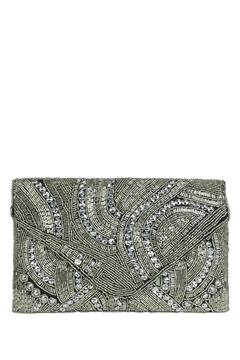 antik kraft Silver Beaded Clutch - Product List Image