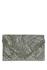 antik kraft Silver Beaded Clutch - Product Mini Image