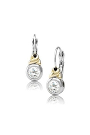 JOHN MEDEIROS Antiqua Cz French-Wire-Earrings - Product Mini Image