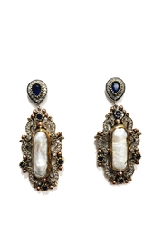 Lets Accessorize Antique Pearl Drop-Earrings - Product Mini Image