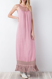 easel Antique-Rose Crinkly-Crepe Maxi - Product Mini Image