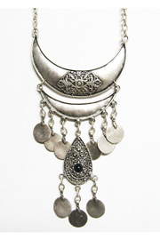 LaLou Antique Silver Plated Zamak Necklace - Product Mini Image