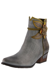 Spring Footwear Antiqued Leather Bootie - Product Mini Image