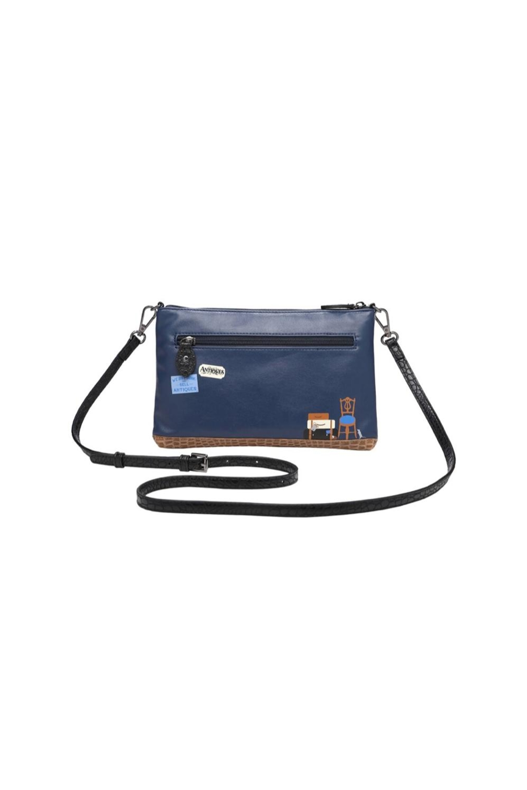 Vendula London Antiques Shop Pouch-Bag - Front Full Image
