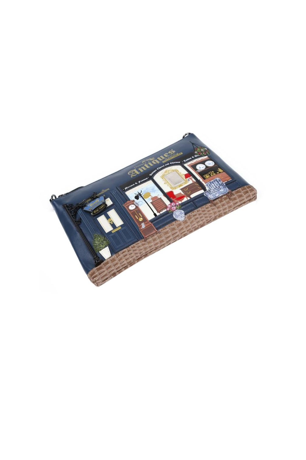 Vendula London Antiques Shop Pouch-Bag - Back Cropped Image