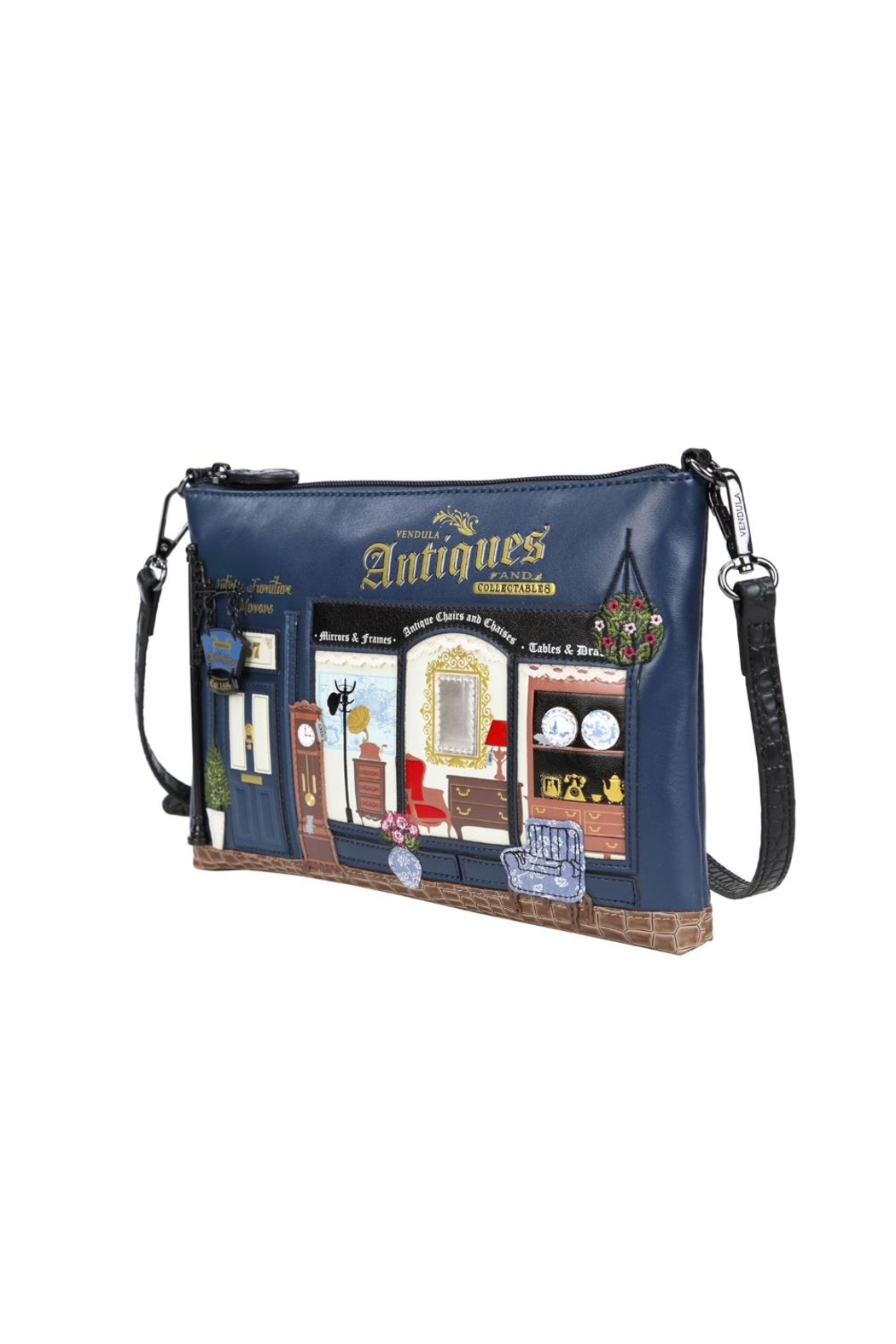 Vendula London Antiques Shop Pouch-Bag - Side Cropped Image