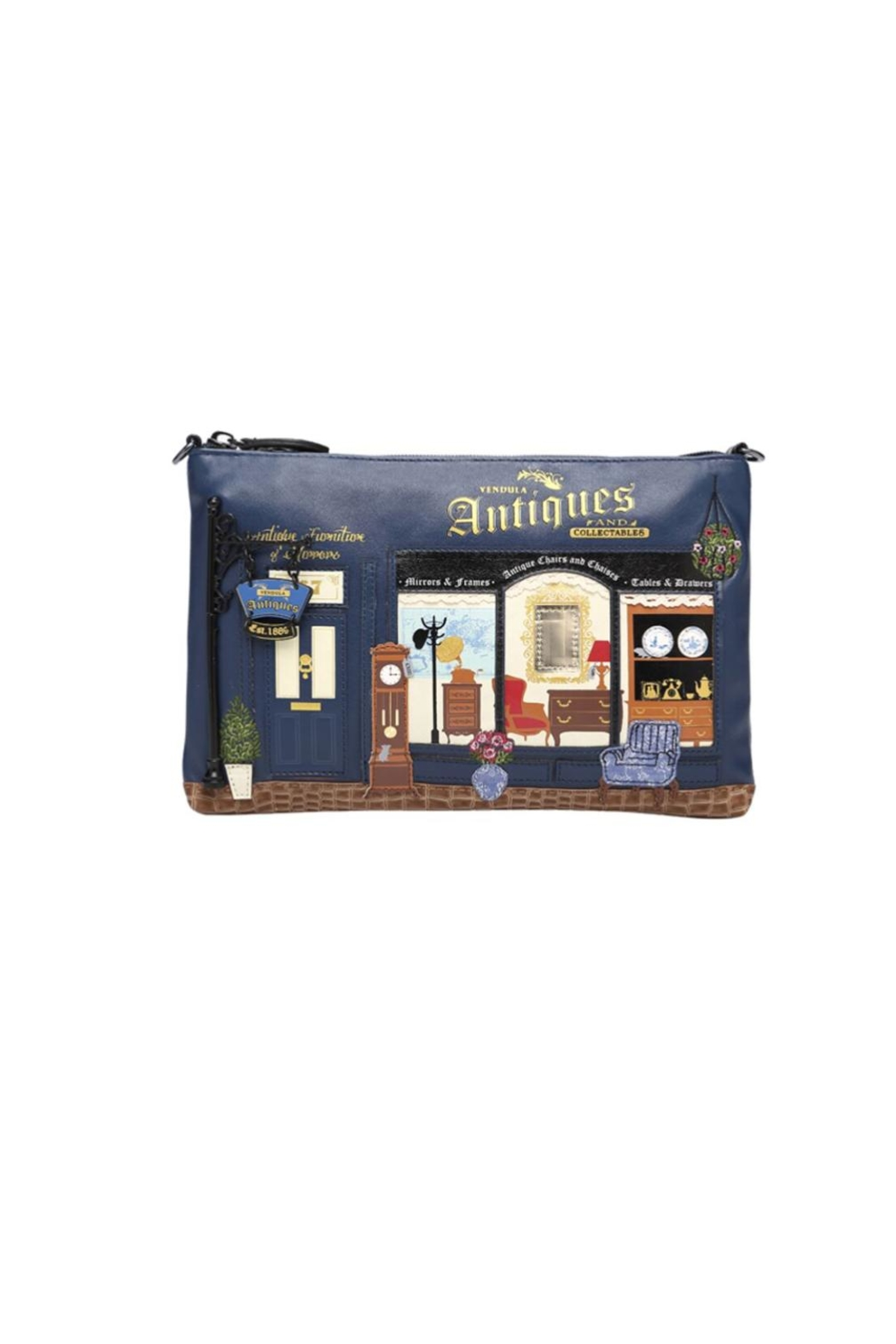 Vendula London Antiques Shop Pouch-Bag - Main Image