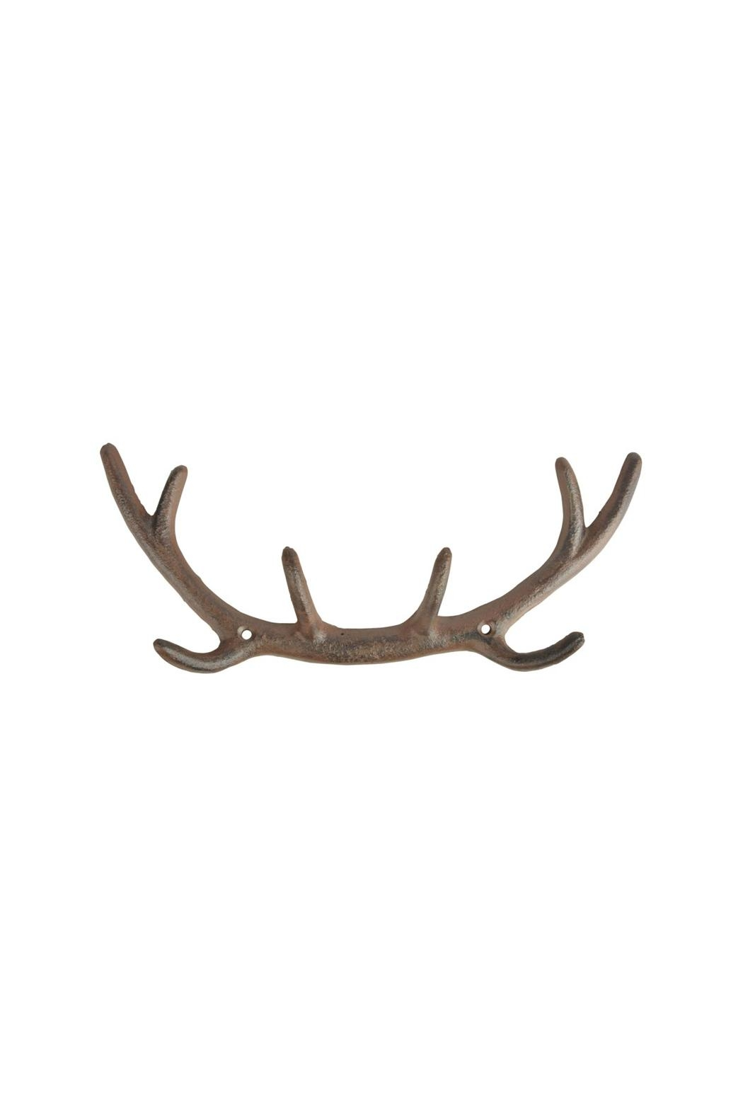 North American Country Home Antler Hook - Main Image