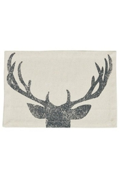 Park Designs Antler Print Placemat - Front full body