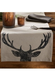 Park Designs Antler Print Table-Runner - Front cropped