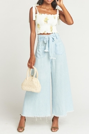 Show Me Your Mumu Antoinette Smocked Top - Front cropped