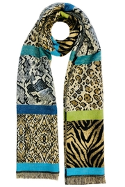 ANTONELLO SERIO Animal Print Scarf - Product Mini Image