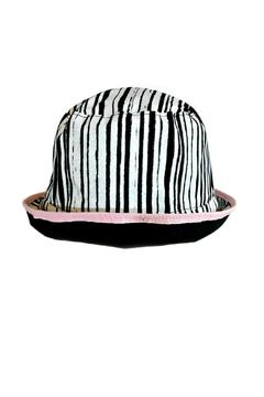 Shoptiques Product: Black Stripes Hat