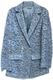 Dixie Blue Lace Blazer - Product Mini Image