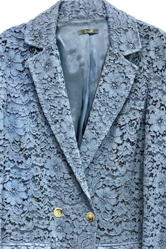 Dixie Blue Lace Blazer - Alternate List Image