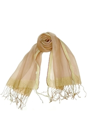 ANTONELLO SERIO Blush Gold Scarf - Product Mini Image