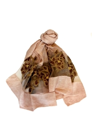 ANTONELLO SERIO Burnout Floral Scarf - Product Mini Image