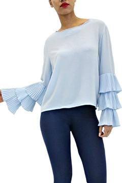 Shoptiques Product: Crop Bell Sleeves