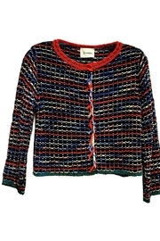 Dixie Crop Knit Cardigan - Product Mini Image