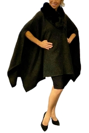 ANTONELLO SERIO Faux Fur Cape - Product Mini Image
