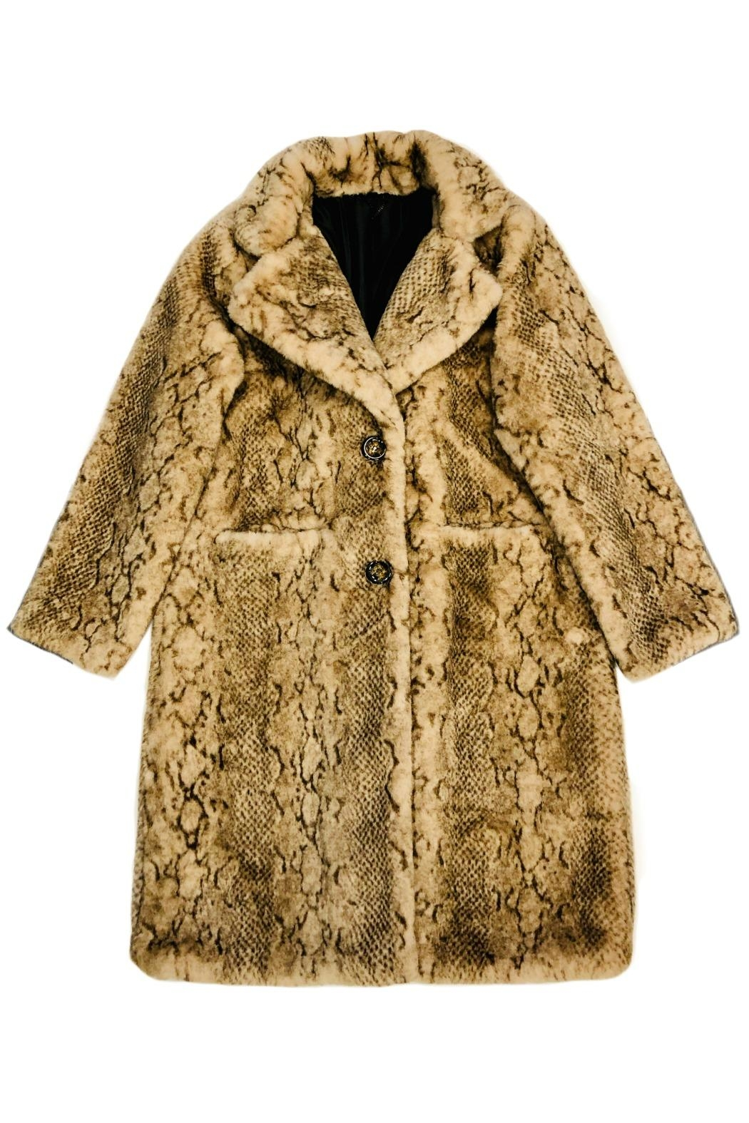 low priced 7664f 9f9dc ANTONELLO SERIO Faux Fur Coat from Portland by Moods of ...