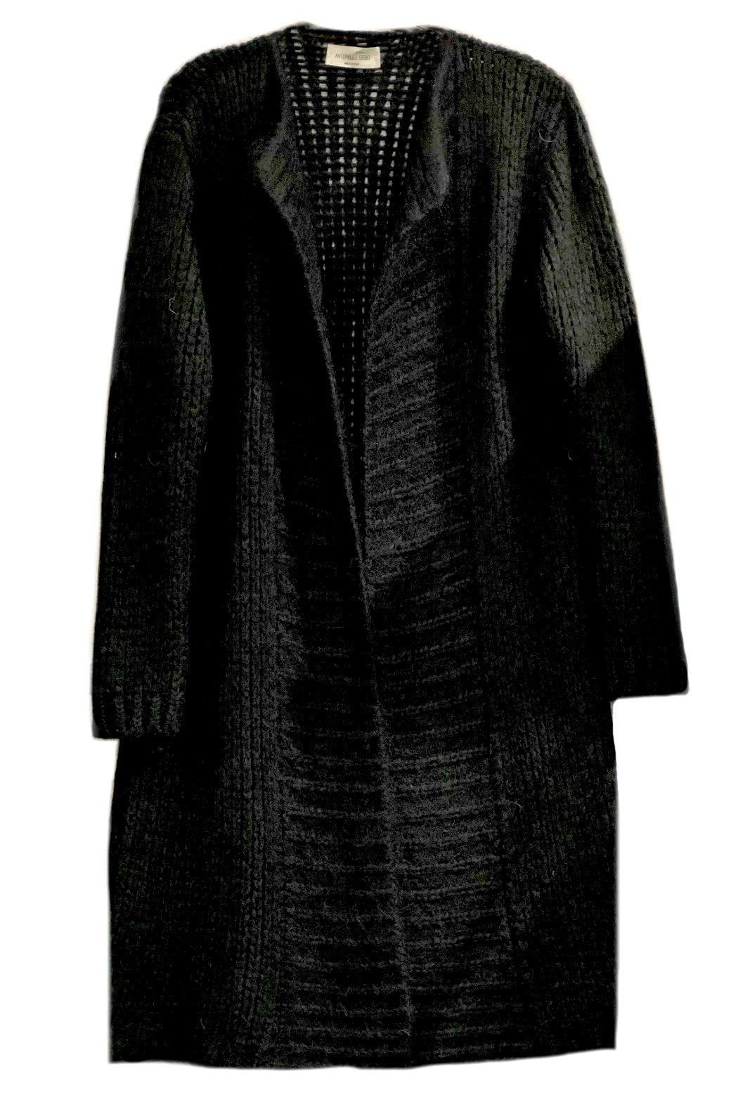 ANTONELLO SERIO Knitted Maxi Cardigan - Front Cropped Image