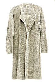 ANTONELLO SERIO Knitted Maxi Cardigan - Front cropped
