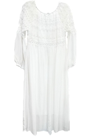 ANTONELLO SERIO Lace Silk Maxi - Front full body
