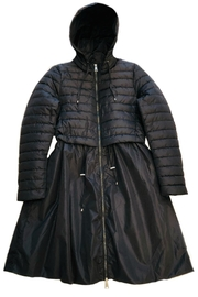 ANTONELLO SERIO Long Puffer Coat - Front full body