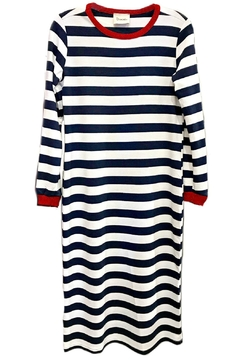 Dixie Nautical Stripes Dress - Product List Image