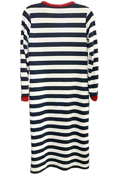 Dixie Nautical Stripes Dress - Alternate List Image
