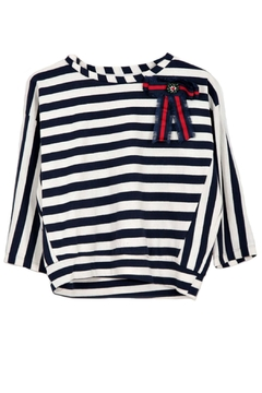 Dixie Nautical Stripes Top - Product List Image