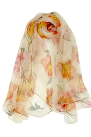 ANTONELLO SERIO Orange Floral Silk - Product Mini Image