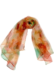 ANTONELLO SERIO Orange Green Silk - Product Mini Image