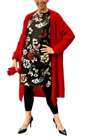 ANTONELLO SERIO Red Knitted Duster - Product Mini Image
