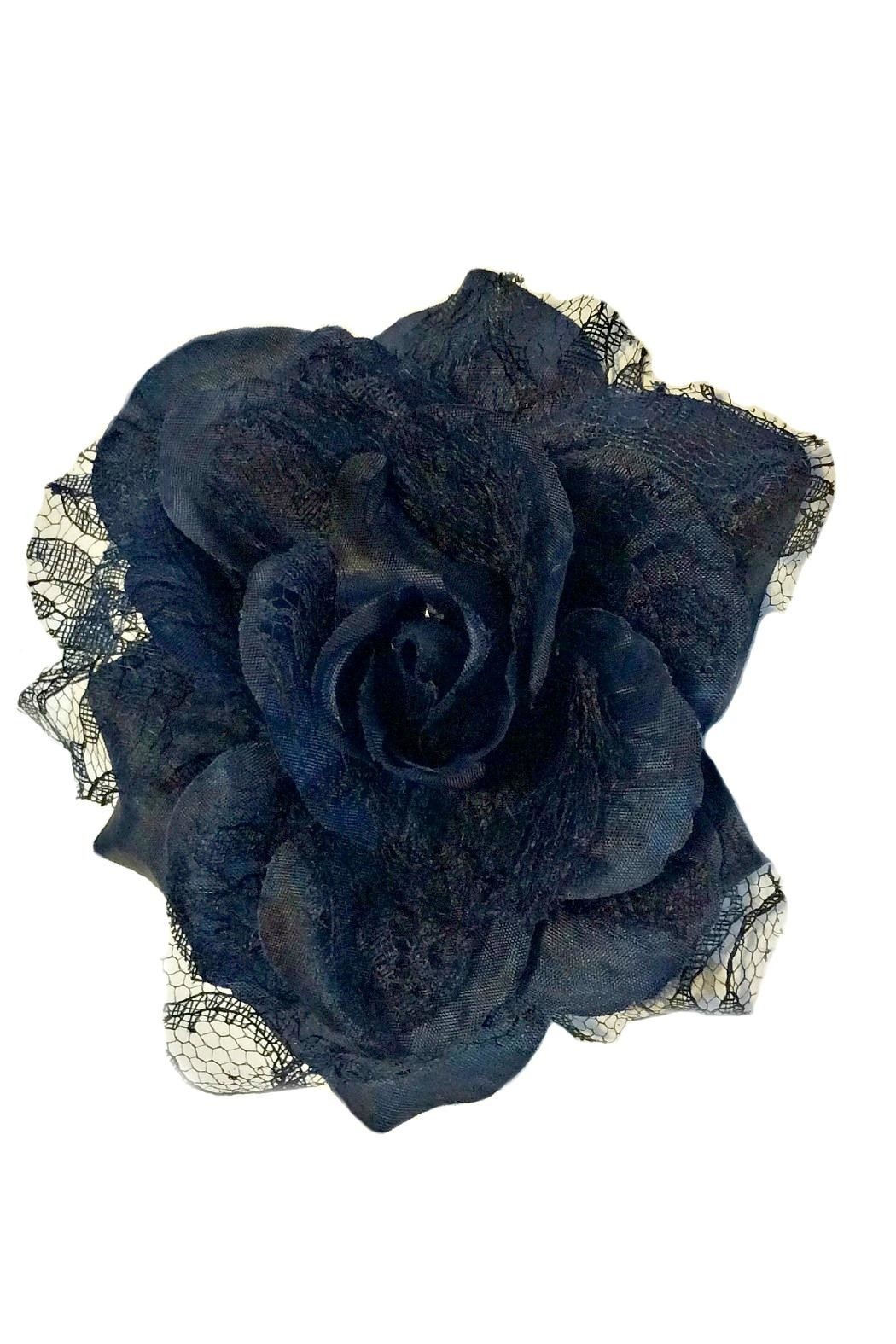 ANTONELLO SERIO Rose Lace Pin - Front Cropped Image