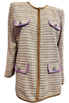 Dixie Tan Tweed Blazer - Product List Image