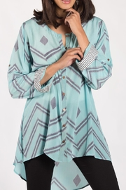 Anupamaa Aqua Agni Shirt - Product Mini Image