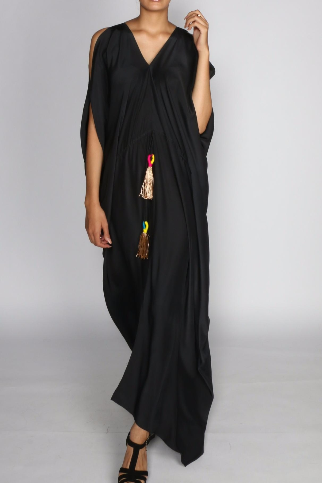 Anupamaa Black Tusha Dress - Main Image