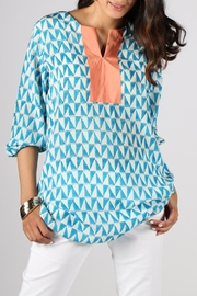 Anupamaa Blue Anjali Top - Side cropped