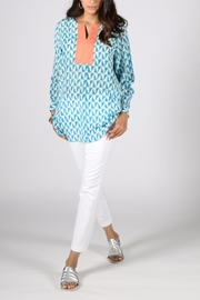Anupamaa Blue Anjali Top - Front full body