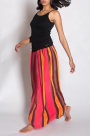 Anupamaa Fluro Gajari Skirt - Front full body