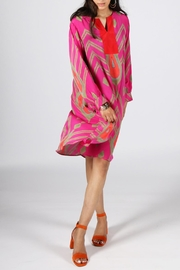 Anupamaa Fuchsia Anjali Dress - Product Mini Image