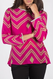 Anupamaa Fuchsia Sarine Top - Product Mini Image