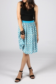 Anupamaa Gajari Blue Skirt - Product Mini Image