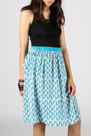 Anupamaa Gajari Blue Skirt - Front full body