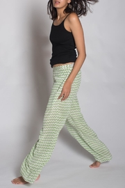 Anupamaa Silk Green Palazzo Pant - Side cropped
