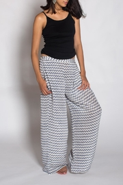 Anupamaa Silk Grey Palazzo Pant - Product Mini Image