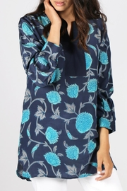 Anupamaa Navy Anjali Top - Product Mini Image